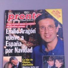 Coleccionismo de Revista Pronto: REVISTA PRONTO , NÚMERO 1388 , AÑO 98. Lote 206414973