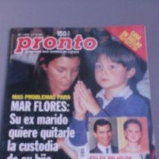 Coleccionismo de Revista Pronto: REVISTA PRONTO , NÚMERO 1399 , AÑO 99. Lote 206415062