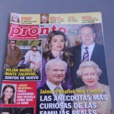 Coleccionismo de Revista Pronto: REVISTA PRONTO , NÚMERO 1981. Lote 206420340