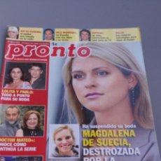 Coleccionismo de Revista Pronto: REVISTA PRONTO , NÚMERO 1983. Lote 206420411