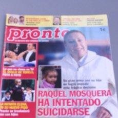 Coleccionismo de Revista Pronto: REVISTA PRONTO , NÚMERO 1907. Lote 206420576