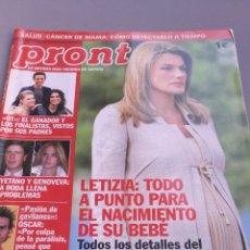 Coleccionismo de Revista Pronto: REVISTA PRONTO , NÚMERO 1746. Lote 206420707