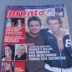 Coleccionismo de Revista Pronto: REVISTA PRONTO , NÚMERO 1753. Lote 206420846