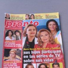 Coleccionismo de Revista Pronto: REVISTA PRONTO , NÚMERO 1975. Lote 206422521
