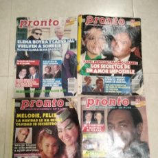 Coleccionismo de Revista Pronto: REVISTA PRONTO 1988. Lote 207561546