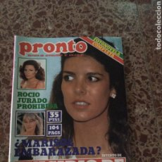 Coleccionismo de Revista Pronto: PRONTO NUM 439 6 OCTUBRE 1980.. Lote 211567979