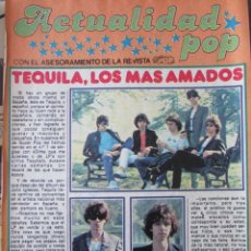 Coleccionismo de Revista Pronto: RECORTE REVISTA PRONTO Nº 438 1980 TEQUILA. Lote 211976290
