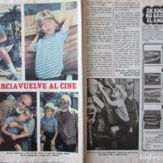 Coleccionismo de Revista Pronto: RECORTE REVISTA PRONTO Nº 438 1980 LOLO GARCÍA, ANTONIO FERRANDIS. JOSE BODALO. Lote 211976423