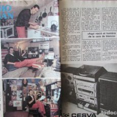 Coleccionismo de Revista Pronto: RECORTE REVISTA PRONTO Nº 438 1980 NACHO DOGAN. Lote 211976561