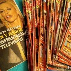 Coleccionismo de Revista Pronto: LOTE 45 REVISTAS PRONTO AÑO 2011. Lote 212474980