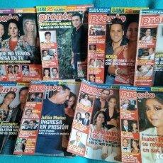 Coleccionismo de Revista Pronto: LOTE DE 36 REVISTAS AÑO 2006 DE PRONTO. ISABEL PANTOJA, ROCÍO JURADO, ROSA LÓPEZ.... Lote 212476483