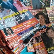 Coleccionismo de Revista Pronto: LOTE DE 46 REVISTAS DE PRONTO DEL AÑO 2007. ISABEL PANTOJA, ROCÍO JURADO, ROSA LÓPEZ, DAVID BISBAL. Lote 212478455