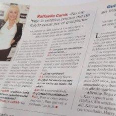 Coleccionismo de Revista Pronto: REVISTA PRONTO AÑO 2011 RAFFAELLA CARRÁ, MICHAEL JACKSON, MADONNA. Lote 212488243
