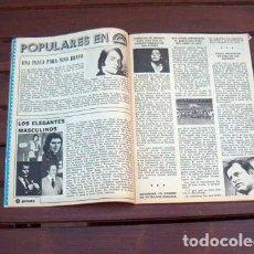 Coleccionismo de Revista Pronto: REVISTA PRONTO Nº 53 / BASILIO, TINA SAINZ, BARRABAS, FERIA SEVILLA, NINO BRAVO, MARI TRINI, MASSIEL. Lote 213502593