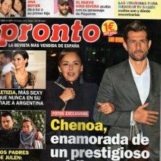 Coleccionismo de Revista Pronto: REVISTA PRONTO, Nº 2448 (6-4-2019). Lote 214649122