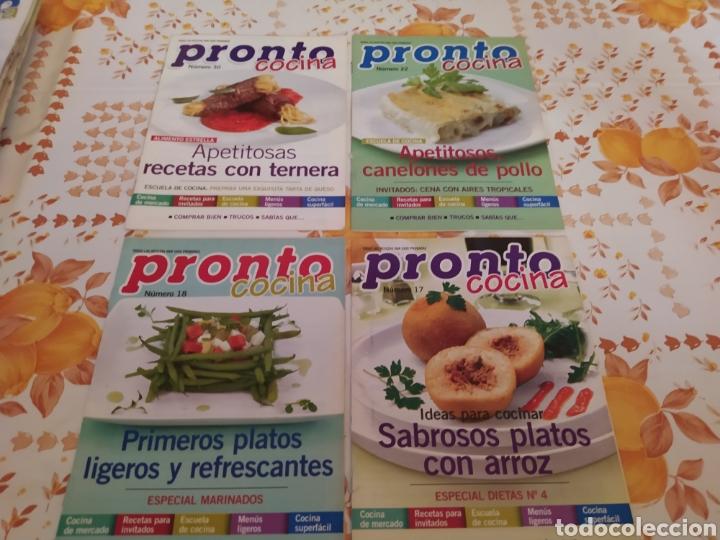 Coleccionismo de Revista Pronto: Lote 40 revistas de cocina recetas Pronto - Foto 2 - 214757097