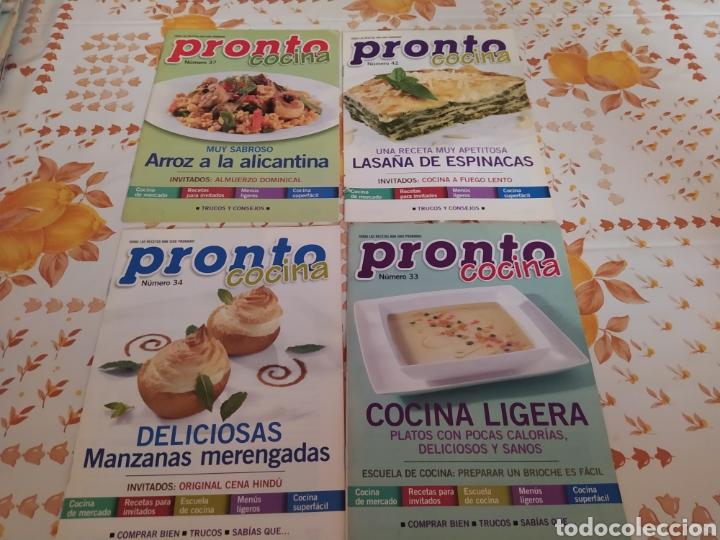 Coleccionismo de Revista Pronto: Lote 40 revistas de cocina recetas Pronto - Foto 3 - 214757097