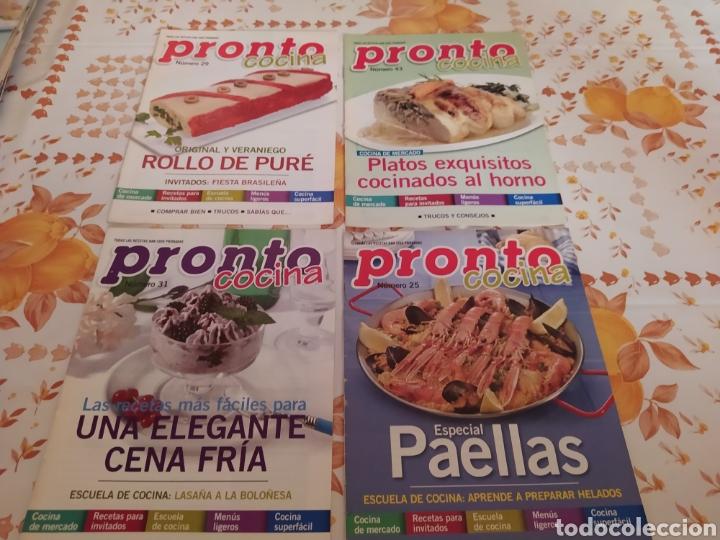 Coleccionismo de Revista Pronto: Lote 40 revistas de cocina recetas Pronto - Foto 4 - 214757097