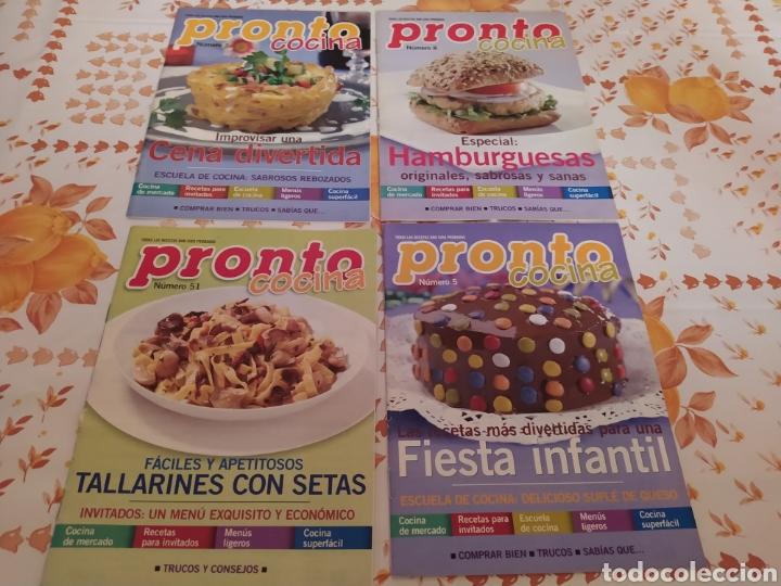 Coleccionismo de Revista Pronto: Lote 40 revistas de cocina recetas Pronto - Foto 5 - 214757097