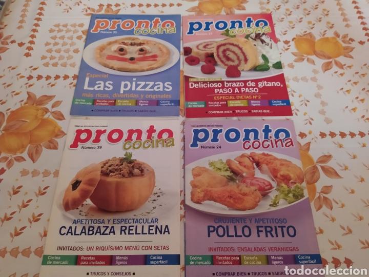 Coleccionismo de Revista Pronto: Lote 40 revistas de cocina recetas Pronto - Foto 6 - 214757097