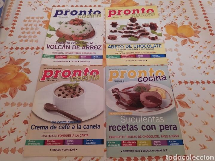 Coleccionismo de Revista Pronto: Lote 40 revistas de cocina recetas Pronto - Foto 7 - 214757097