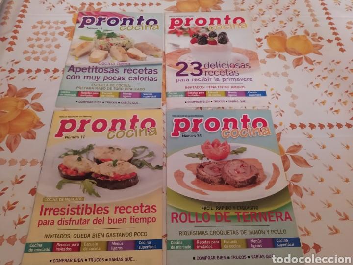 Coleccionismo de Revista Pronto: Lote 40 revistas de cocina recetas Pronto - Foto 8 - 214757097