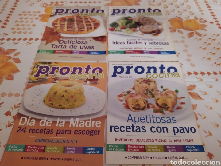 Coleccionismo de Revista Pronto: Lote 40 revistas de cocina recetas Pronto - Foto 9 - 214757097
