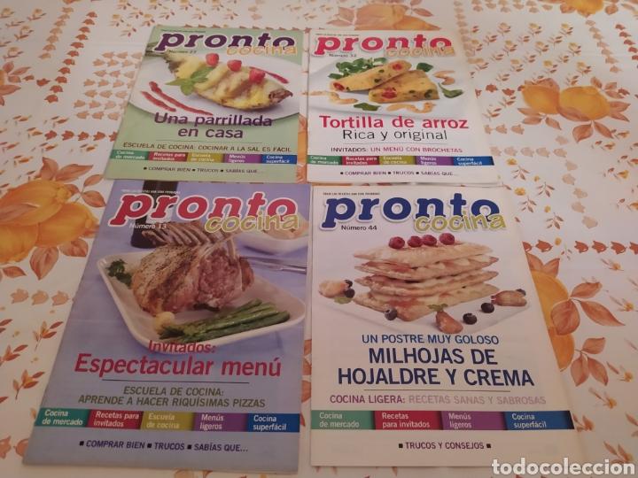 Coleccionismo de Revista Pronto: Lote 40 revistas de cocina recetas Pronto - Foto 10 - 214757097
