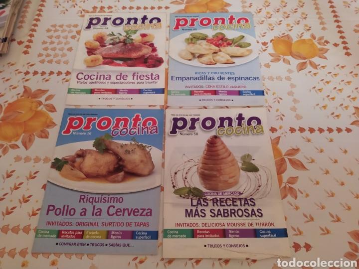 LOTE 40 REVISTAS DE COCINA RECETAS PRONTO (Papel - Revistas y Periódicos Modernos (a partir de 1.940) - Revista Pronto)
