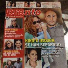 Coleccionismo de Revista Pronto: REVISTA PRONTO N° 2137 (20-04-2013). Lote 214857753