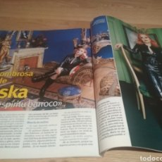 Coleccionismo de Revista Pronto: REVISTA SEMANA ALASKA FANGORIA 2001. Lote 214932040