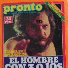 Coleccionismo de Revista Pronto: REVISTA PRONTO Nº 419 (1980) ROBERT REDFORD, CHICHO IBAÑEZ, SERRAT, URIBARRI, RAUL SENDER. Lote 216594585