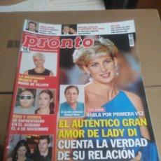 Coleccionismo de Revista Pronto: LOTE DE 9 REVISTAS PRONTO.. Lote 219695398