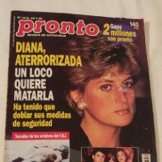 Coleccionismo de Revista Pronto: REVISTA PRONTO NÚMERO 1212 AÑO 1995. Lote 220292337