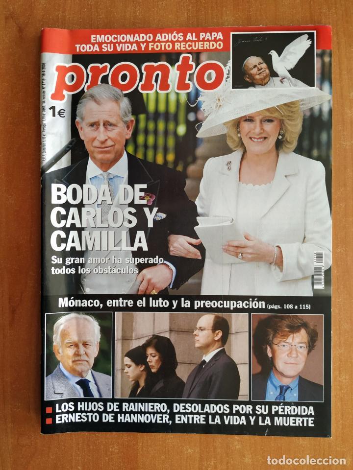 REVISTA PRONTO 1719. ELSA PATAKY. RAFAEL AMARGO. PEPE DE LUCÍA. UNAX UGALDE. CHENOA. FERNANDO ALONSO (Papel - Revistas y Periódicos Modernos (a partir de 1.940) - Revista Pronto)