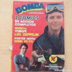 Coleccionismo de Revista Pronto: REVISTA BOMBA NUM 4. PRONTO. Lote 221466753
