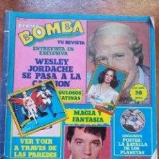 Coleccionismo de Revista Pronto: REVISTA BOMBA NUM 21. Lote 221479768