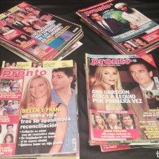 Coleccionismo de Revista Pronto: LOTE DE 40 REVISTAS PRONTO. Lote 221707046