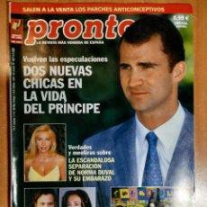 Coleccionismo de Revista Pronto: PRONTO Nº 1557. JUANITO VALDERRAMA. CUATRILLIZOS DE CANET. CONCHA MARQUEZ PIQUER. MANOLO DE VEGA.. Lote 222467611
