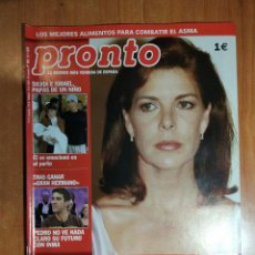 Coleccionismo de Revista Pronto: PRONTO Nº 1603. UN PASO ADELANTE. ANA BOTELLA. CHARO REINA. MARIBEL VERDÚ. BUSTAMANTE.BERTÍN OSBORNE. Lote 222685085