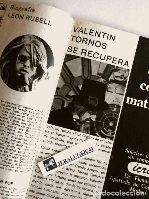 Coleccionismo de Revista Pronto: PRONTO Nº 61 (1973) (DIFICIL) SERRAT habla de Marisol - El Cordobes se separa - Don Cicuta enfermo - Foto 2 - 225207515