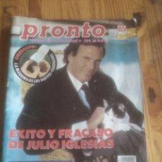 Coleccionismo de Revista Pronto: REVISTA PRONTO N784. Lote 227154475