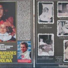 Colecionismo da Revista Pronto: RECORTE REVISTA PRONTO Nº 973 1990 CAROLINA DE MÓNACO. STEFANO CASIRAGHI. PORTADA Y 9 PGS. Lote 228150825
