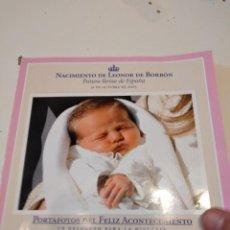 Coleccionismo de Revista Pronto: G-59 FOTOS PRONTO NACIMIENTO LEONOR Y BODA FELIPE Y LETICIA CON FOTOS VER. Lote 229769125