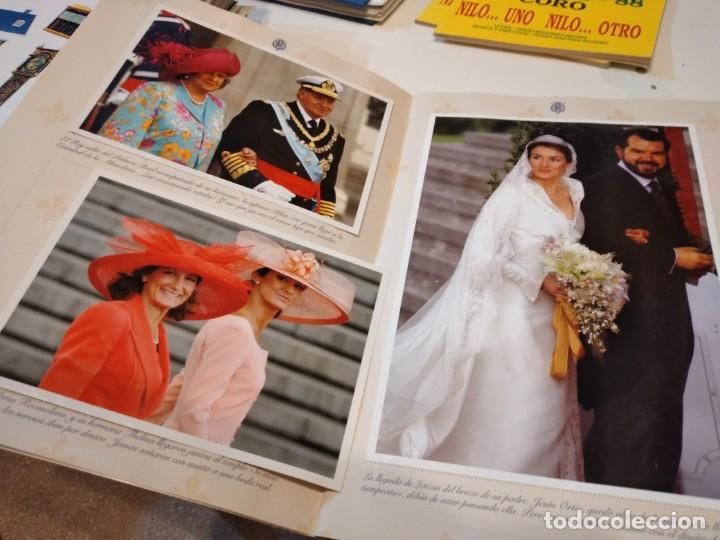 Coleccionismo de Revista Pronto: G-59 FOTOS PRONTO NACIMIENTO LEONOR Y BODA FELIPE Y LETICIA CON FOTOS VER - Foto 8 - 229769125
