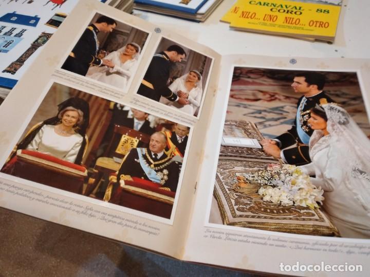 Coleccionismo de Revista Pronto: G-59 FOTOS PRONTO NACIMIENTO LEONOR Y BODA FELIPE Y LETICIA CON FOTOS VER - Foto 11 - 229769125
