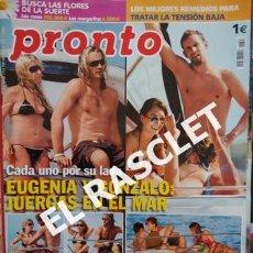 Coleccionismo de Revista Pronto: ANTIGUA REVISTA PRONTO - NUMERO 1843 - SEPTIEMBRE 2007. Lote 233978910