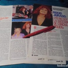 Coleccionismo de Revista Pronto: RECORTE : ROCIO JURADO, 2 OFERTAS DE CINE. PRONTO, FBRO 1991 (#). Lote 236776375