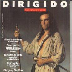 Coleccionismo de Revista Pronto: REVISTA DIRIGIDO POR Nº 207 AÑO 1992. EL ÚLTIMO MOHICANO. GLENGARRY GLEN ROSS. ROBERT ALTMAN.. Lote 238656020