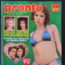 Collectionnisme de Magazine Pronto: REVISTA PRONTO Nº 262 - SHAUN CASSIDY SUSANA ESTRADA FOFO. Lote 240682585